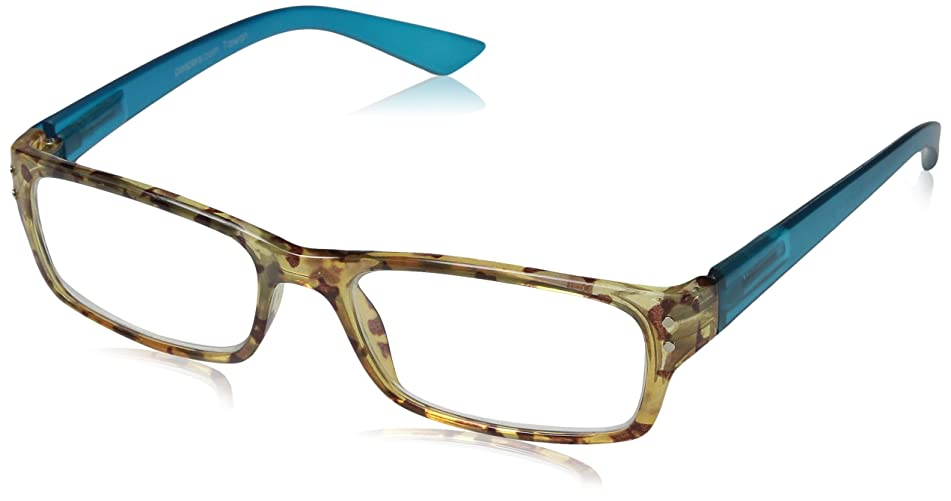 Peepers Mocha Almond Chip Rectangular Reading Glasses