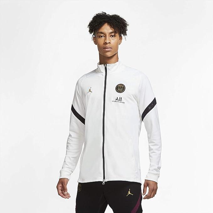 Nike PSG Paris Saint Germain Felpa Jordan Allenamento Full Zip 2020-21