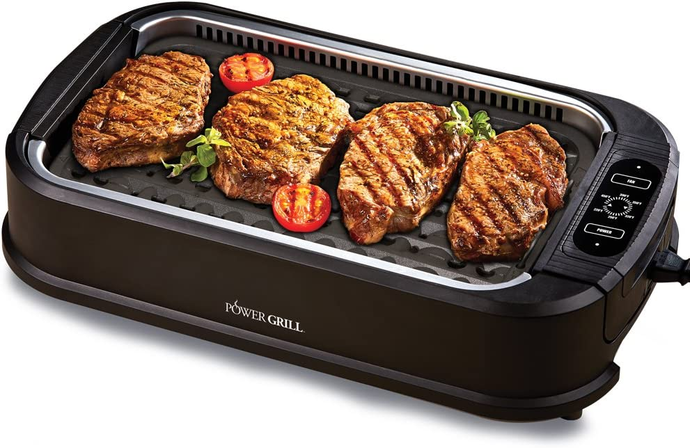 Power XL Electric Indoor Removable Smokeless Grill