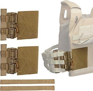LIVANS Quick Release Buckle Set, Molle Side Belt Cummerbund Fast Fit Buckle Set Single Point Quick Release Assembly