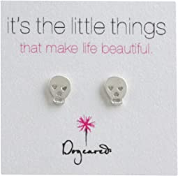 It's The Little Things Earrings Skull