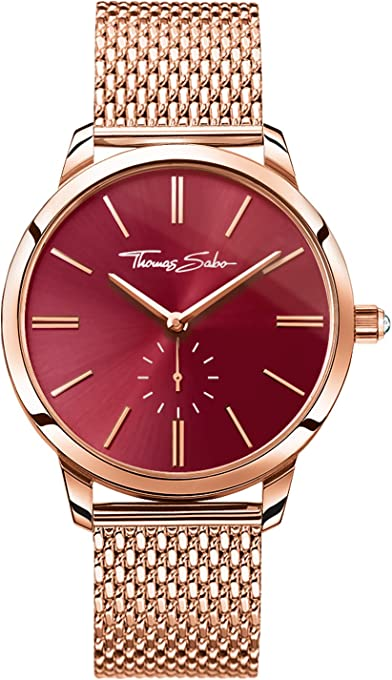 THOMAS SABO Women's TWA0276 Year-Round Analog Quartz Rose Gold Watch