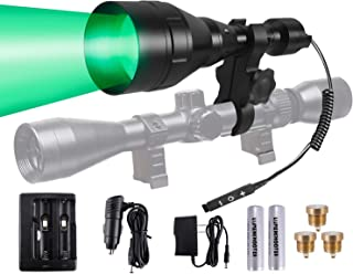LUMENSHOOTER A9P Long Range Dimmable Hunting Light...