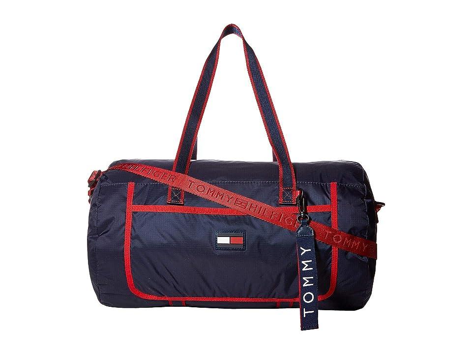 Tommy Hilfiger Crewe Duffel (Red/Multi) Handbags