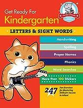 استعد لرياض الأطفال: حروف وكلمات ممتعة: 247 تمريناً مرحاً لمهارات الماجستير للنجاح في المدرسة (احصل على جاهز للمدرسة)