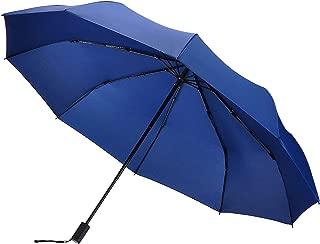 EDTRE 手動開閉 折りたたみ傘 レディース メンズ 晴雨兼用 軽量290g 10本骨 116cm大きさ 収納ポーチ付 高強度グラスファイバー伞骨 Teflon 耐風撥水 丈夫 折り畳み傘 日傘 梅雨 携帯しやすい 出張 旅行 通勤