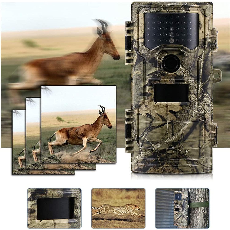 狩猟カメラワイルドカメラフォトトラップゲームカメラ20MP 1080 pトレイルカメラ屋外野生生物偵察カメラ65フィート長距離ナイトビジョン防水狩猟ゲームカメラ