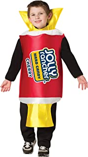 Child's Classic Jolly Rancher Cherry Wrapper Chocolate Candy Costume