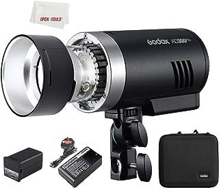 Godox AD300PRO - Batería de litio para exteriores (300 W, 1/8000s HSS, TTL, flash integrado, 2,4 G, para Nikon, Canon, Son...