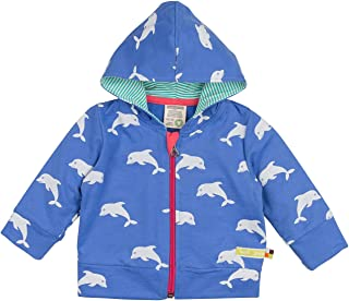loud + proud Sweatjacke, Druck Jacket, Bleu (pacifice) Pa, 62 Bébé Fille
