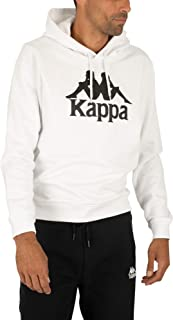Kappa Men's Authentic Esmio Pullover Hoodie, White