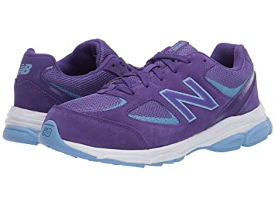 New Balance Kids GK888v2 (Big Kid) (Prism Purple/Team Carolina Blue) Girls Shoes
