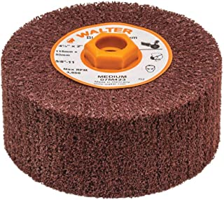 10-Pack United Abrasives-SAIT 27406 A38 RB 1 by 1 by 1//4 A36Q Mounted Point Grinding Wheels