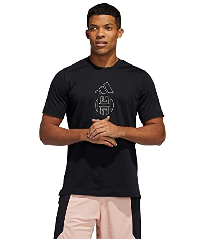 adidas Harden Halo Tee (Black) Men