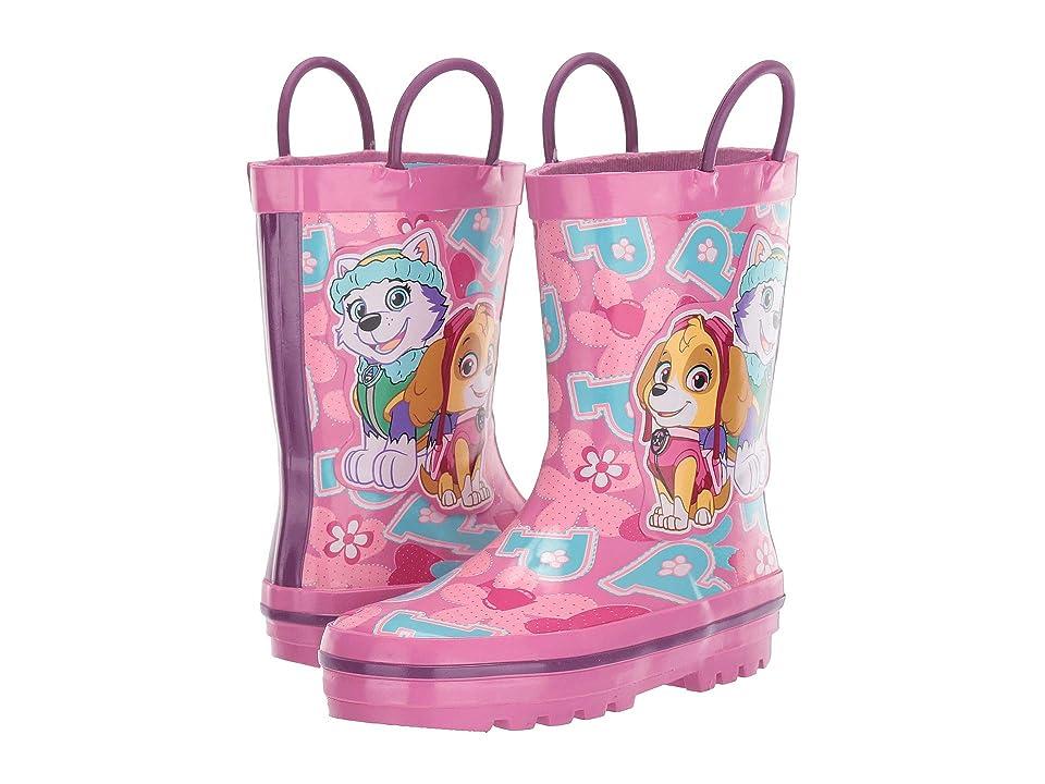 Josmo Kids Paw Patrol Rain Boots (Toddler/Little Kid) (Pink) Girls Shoes