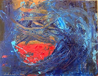 Turbulencia, Abstracto, oleo y acrilico sobre canvas