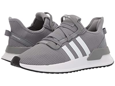 adidas Originals Kids U_Path Run J (Big Kid) (Grey/White) Boys Shoes