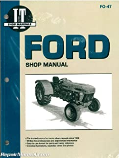 FO-47 Ford New Holland 3230, 3430, 3930, 4630 and 4830 Tractor Workshop Manual