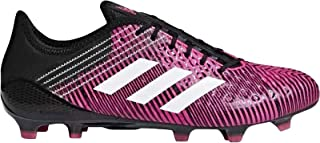 adidas Performance Predator Malice Control Firm Ground Rugby Boots Pink 13.5
