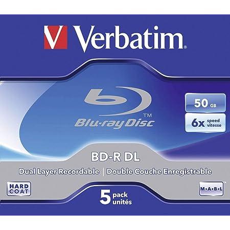 Verbatim Bd R Dual Layer 50 Gb Blu Ray Disk 6 Fache Computer Zubehör