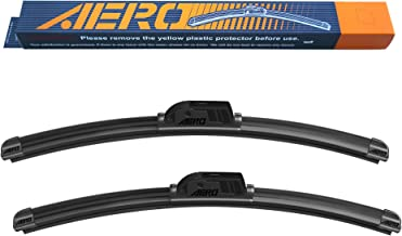 (Set of 2) AERO Premium Beam Windshield Wiper Blades OEM Replacement for Chevrolet Silverado 1500 2019-1999 22