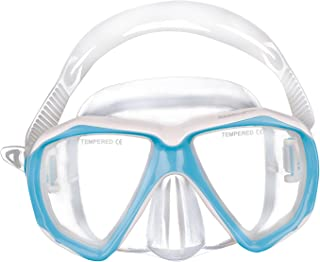 Kids Anti Fog No Leak Tempered Glass Lens Scuba Diving Mask Swimming Goggles 5-12Y