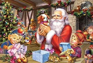 Vermont Christmas Company Santa & Friends Kid's Jigsaw Puzzle 100 Piece