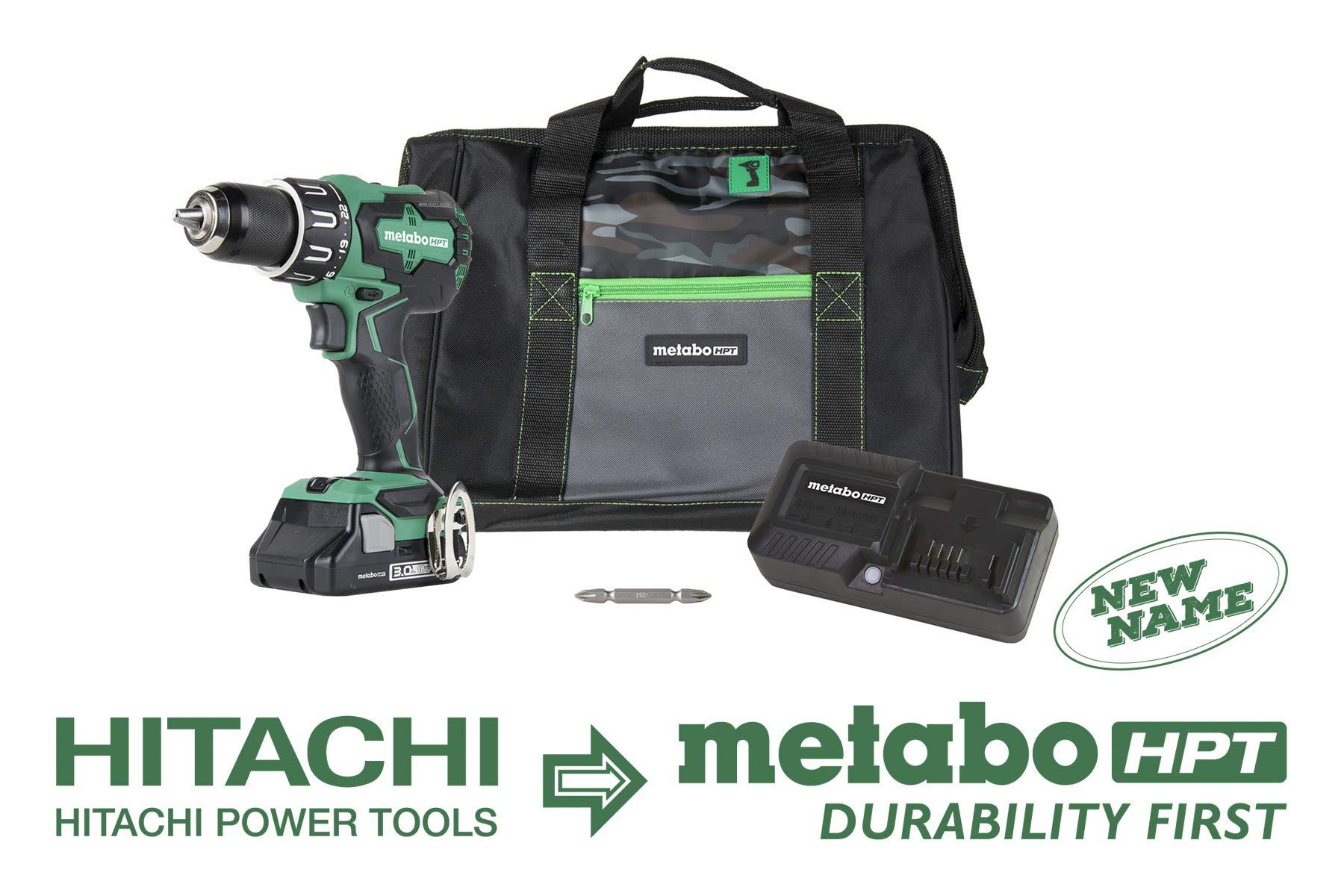 Metabo HPT DV18DBFL2S Brushless All Metal