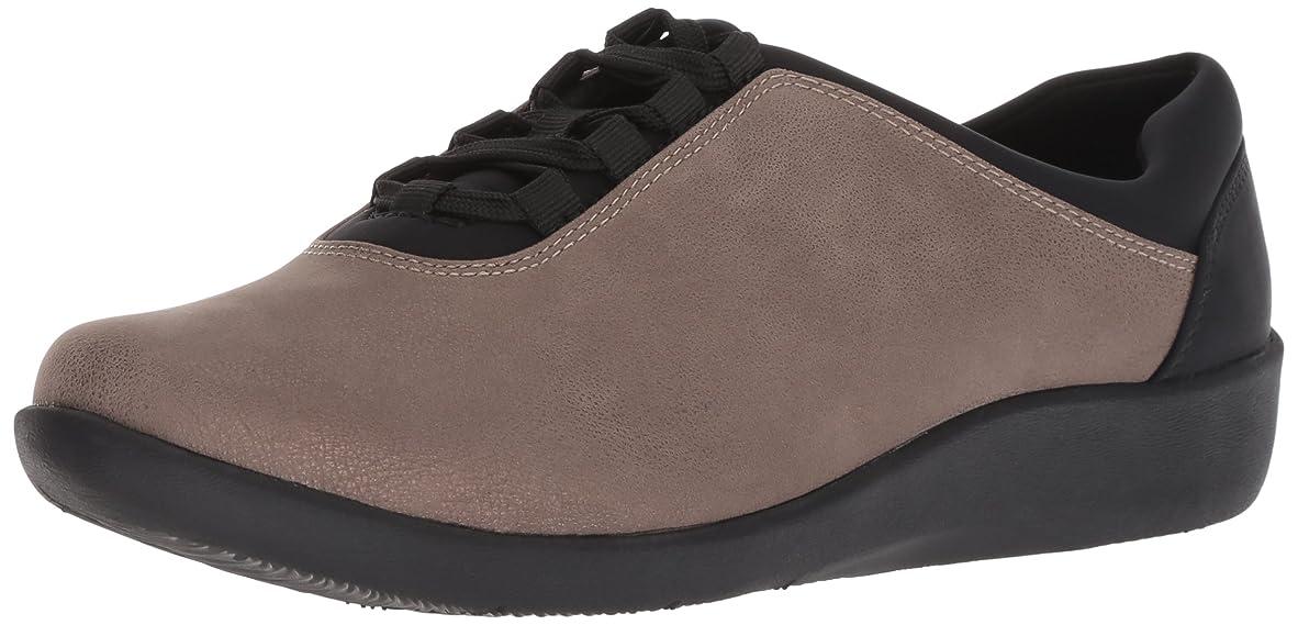 純粋な意識的のスコア[クラークス] Women's Sillian Pine Sneaker [並行輸入品]