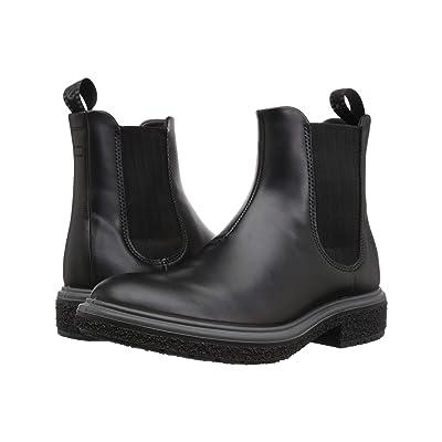 ECCO Crepetray Low Boot (Black) Men