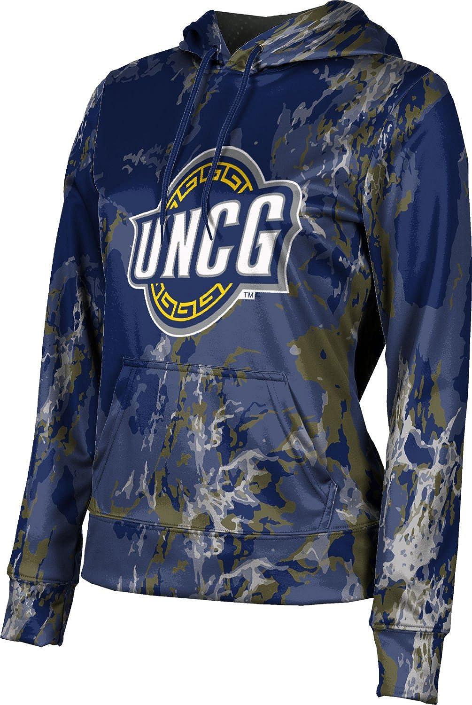 University of North Carolina at Greensboro Girls' Pullover Hoodie, School Spirit Sweatshirt (Marble)