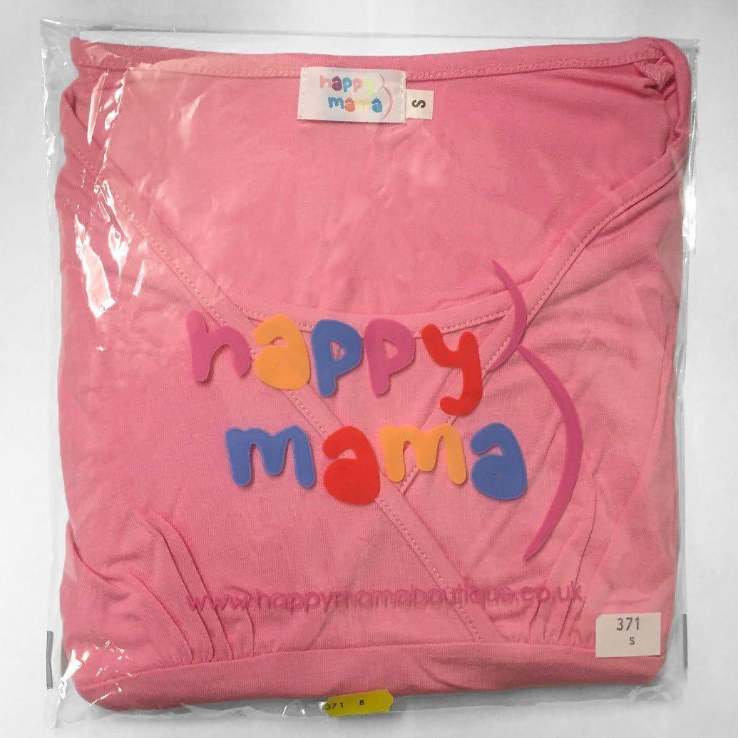 137p Womens Nursing Hoodie Breastfeeding Contrast Detail Maternity Happy Mama