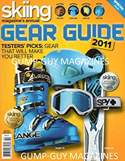 Skiing Magazine Annual 2011 GEAR GUIDE Testers' Picks: Gear That Will Make You Better