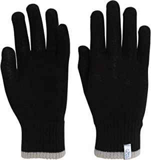 TrailHeads Light Knit Gloves | Winter Glove Liners | Base Layer Gloves for Women and Men