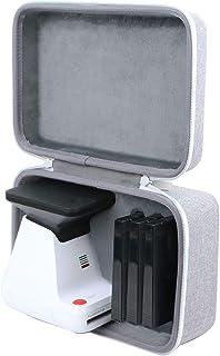 co2CREA Förvaring Bär Resa Hårt Skal för Polaroid Original 9019 Polaroid Lab(svart), grå/Vit