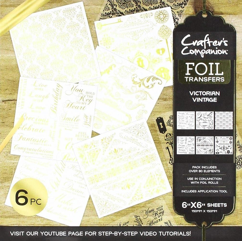 Crafter's Companion CC-FOILTR-VV Victorian Vintage Foil Transfers, Clear