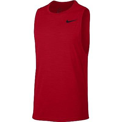 Nike Superset Top Tank (University Red/Black) Men