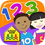 School Zone Numbers Flash Cards Ages 3-5 Numbers 0-25 Counting