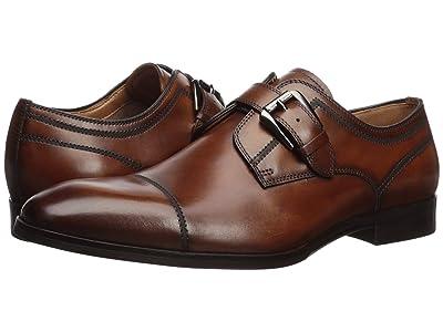 Steve Madden Covet (Cognac Leather) Men