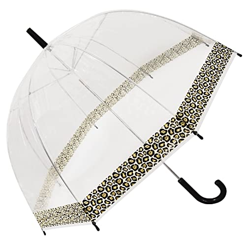 d34484fc1 Clear Dome See Through Umbrella - Windproof - Strong, Lightweight,  Transparent, Waterproof (