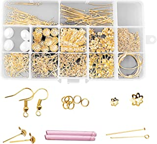 100 Pieces Plaque Or Crochets de Boucles d/'oreilles E5R8