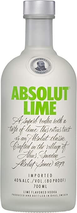 Absolut Lime Vodka , 700 ml