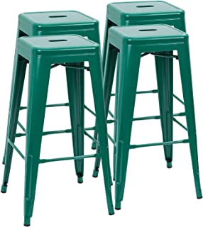 Prime Amazon Com Green Barstools Home Bar Furniture Home Customarchery Wood Chair Design Ideas Customarcherynet