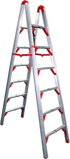 Telesteps 700FLD OSHA Compliant 7 ft Double sided folding step ladder (STIK)