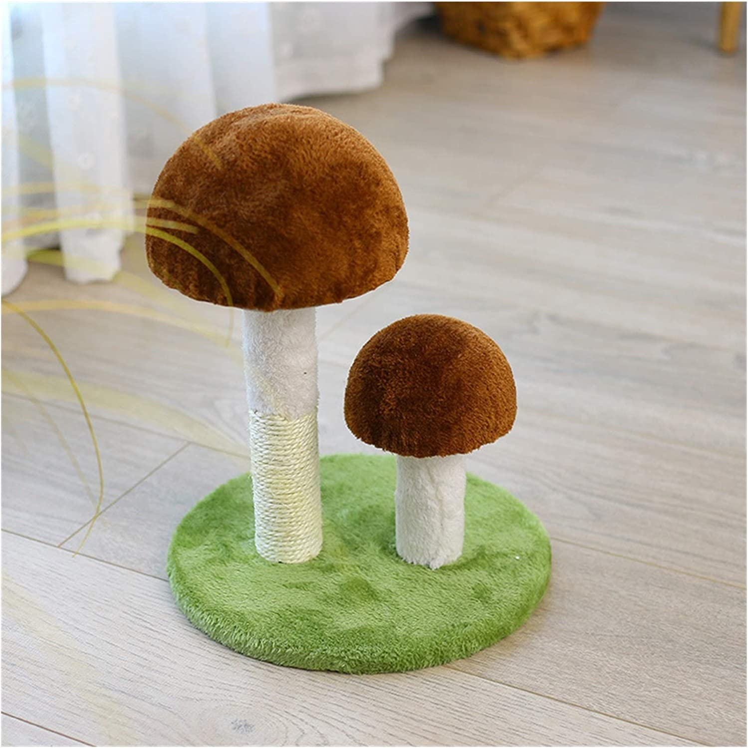 YOUZTJZ Cat Tree Climbing Animer and price revision Daily bargain sale Frame Toy Grab Mushroom Shape