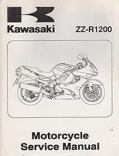 2002 KAWASAKI MOTORCYCLE ZZ-R1200 SERVICE MANUAL P/N 99924-1279-01 (551)