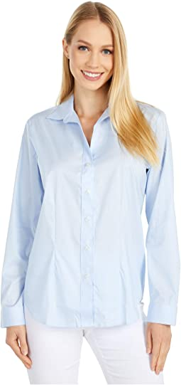 Magnetically Infused V-Neck Blouse