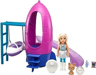 Barbie Space Discovery Chelsea lalka i rakieta statek zestaw do zabawy ze szczeniakiem