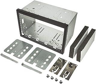 tomzz Audio 2400 009 2DIN Doppel ISO DIN Metal Rahmen Einbauschacht Radioblende Einbausatz Einbaurahmen