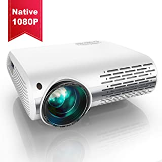 Vidéoprojecteur, YABER 6500 Lumens Video Projecteur Full HD 1080P (1920 x 1080)..